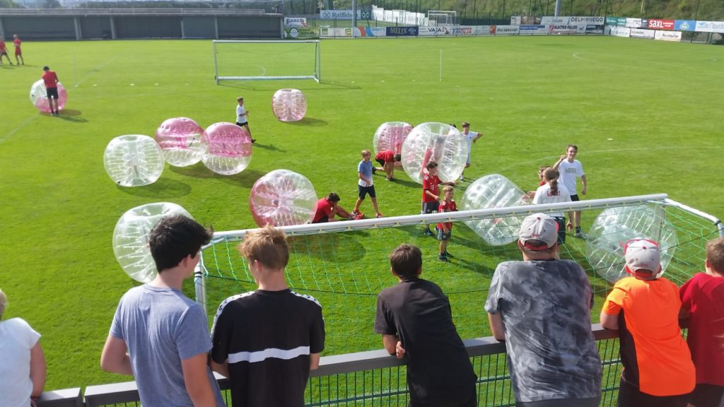 Kids Bubblesoccer in Südtirol
