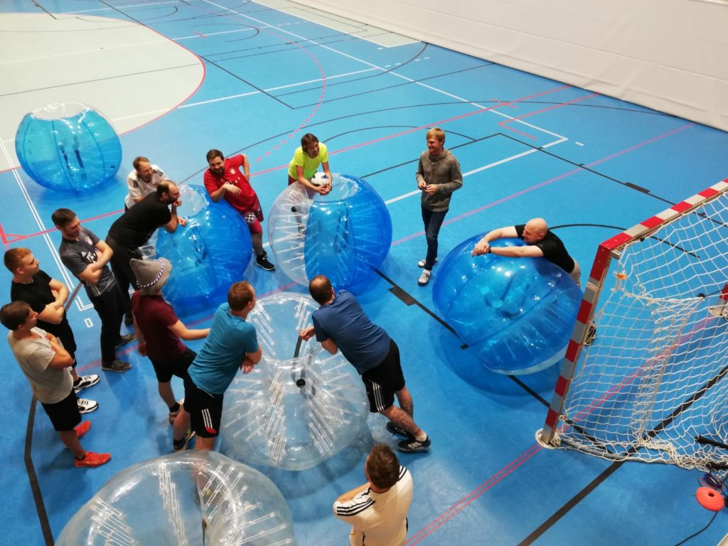 Bubblesoccer Junggesellenabschied in Salzburg