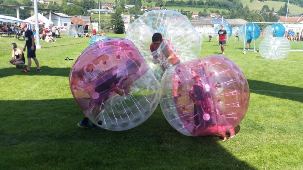 Bubblesoccer Kinder