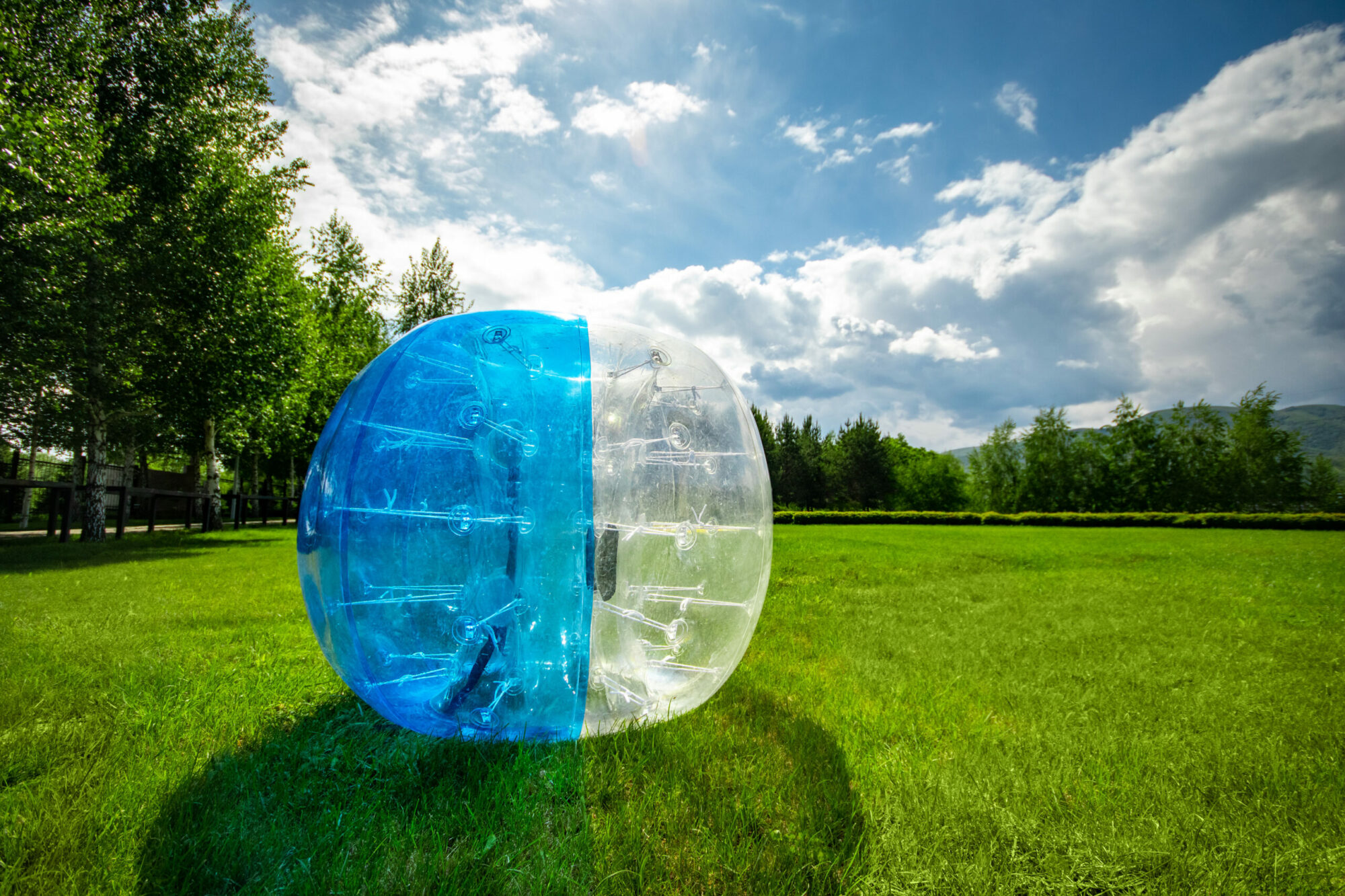 Bubblesoccer - greatest Game Ever Played!